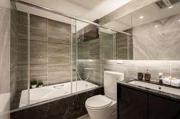 主浴室:  浴室 by 你你空間設計