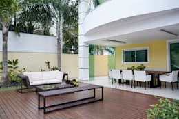庭院 by Priscila Boldrini Design e Arquitetura