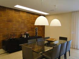 Comedores de estilo moderno por Priscila Boldrini Design e Arquitetura