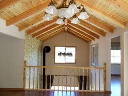 Tерраса в . Автор – Timber house