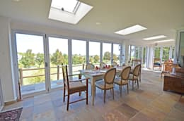 dining room terrace: eclectic Dining room by Till Manecke:Architect