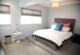 bedroom en suite: eclectic Bedroom by Till Manecke:Architect