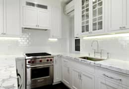 Renovation on 82nd Street: modern Kitchen by KBR Design and Build