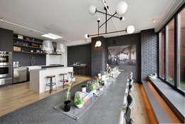 Renovation at 7 Wooster: modern Kitchen by KBR Design and Build