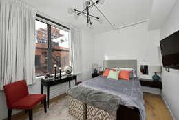 Renovation at 7 Wooster: modern Bedroom by KBR Design and Build