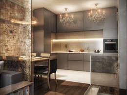 Кухня: Кухни в . Автор – ARCHLINE  ARCHITECTURE & DESIGN