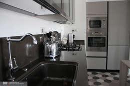 Cocinas de estilo industrial por BB1 LABORATORIO DI ARCHITETTURA & DESIGN