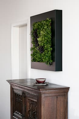 Interior landscaping تنفيذ Vertical Green Design