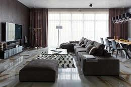 Projekty,  Salon zaprojektowane przez SNOU project
