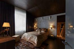 Projekty,  Sypialnia zaprojektowane przez SNOU project
