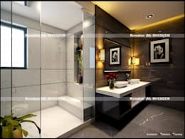 Interior: modern Bathroom by Rcreation