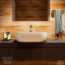 حمام تنفيذ дизайн-студия PandaDom