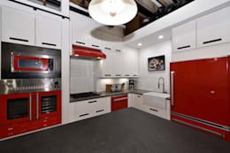 industrial Kitchen by KBR Design and Build