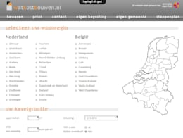 de estilo  de watkostbouwen.nl