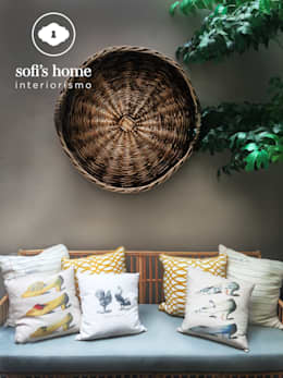 Jardim  por Sofi´s Home interiorismo