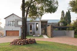 Projekty, wiejskie Domy zaprojektowane przez Metako Projex