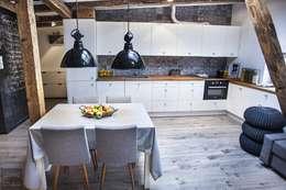 Cozinhas escandinavas por Limonki Studio Wojciech Siudowski