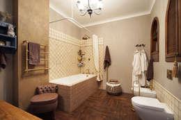 Baños de estilo rural por SK-Interior Design, SoKolova Irina