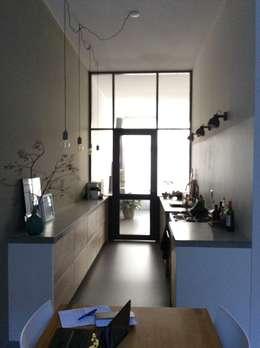 Open keuken:   door Studio Inside Out
