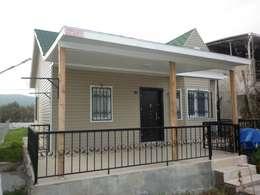 modern Houses by ersin usta prefabrik
