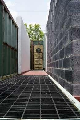 Jardines de estilo moderno por TARE arquitectos