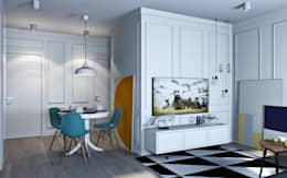 scandinavian Living room by OBJECT