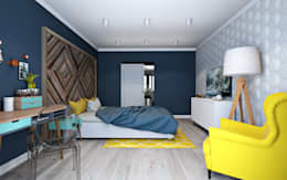 scandinavian Bedroom by OBJECT