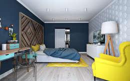 scandinavian Bedroom by OBJECT