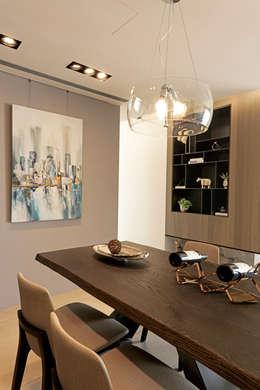 modern Living room by 沐設計