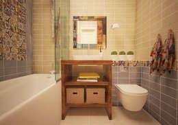 浴室 by ARTWAY центр профессиональных дизайнеров и строителей