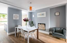Oliphant Street, Queen's Park : rustic Dining room by Grand Design London Ltd