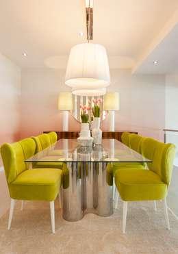 Sala de jantar. Interdesign: Salas de jantar modernas por Interdesign Interiores