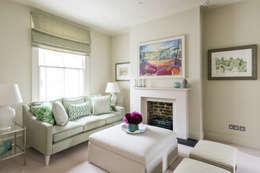 Salas / recibidores de estilo moderno por Grand Design London Ltd