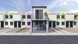 Casas modernas por Lentz Arquitectura Diseño y Construcción