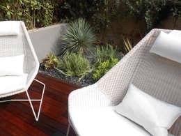 Jardim Foz do Douro: Jardins modernos por Tangerinas e Pêssegos