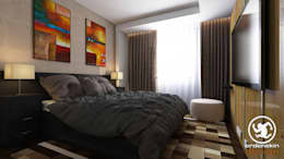 modern Bedroom by Erden Ekin Design