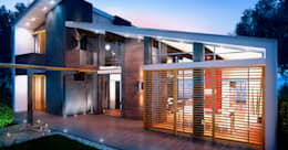 Projekty, nowoczesne Domy zaprojektowane przez Apriori Albero