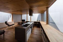 modern Living room by 建築設計事務所SAI工房