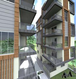 alfa mimarlık – Kadıoğulları grup:  tarz Ofis Alanları