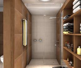 modern Bathroom by JIEarq