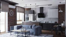 Cuisine de style de style Industriel par EEDS Interior design studio