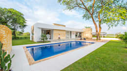 Piscinas de estilo moderno por David Macias Arquitectura & Urbanismo