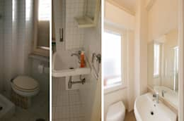 Ванные комнаты в . Автор – NOS Design