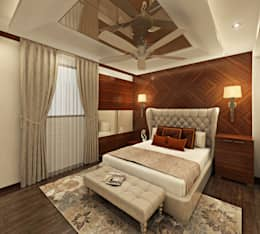asian Bedroom by Design Consultant