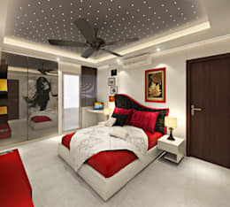 Kids Room: asian Nursery/kid's room by Design Consultant