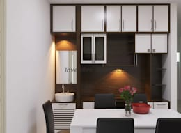 Interior Project for 3BHK Flat: modern Dining room by Inventivearchitects