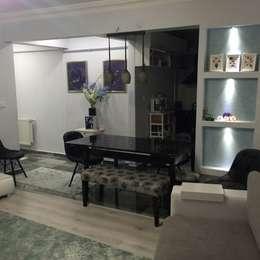 Salas de estilo moderno por rwiçmimari