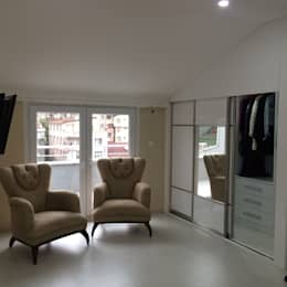 minimalistic Dressing room by rwiçmimari