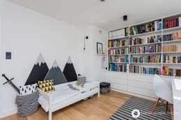 modern Nursery/kid's room by Michał Młynarczyk Fotograf Wnętrz