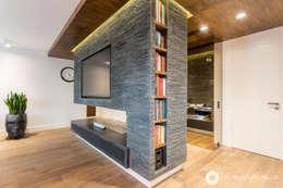 modern Living room by Michał Młynarczyk Fotograf Wnętrz